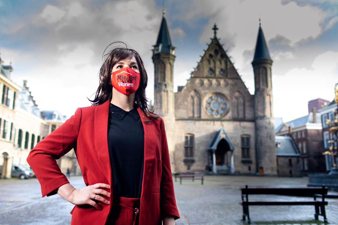 Fictieve minister voor Wonen: Stefanie Blokhuizen